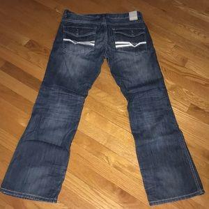 HELIX Slim Boot Cut Jeans~32Wx30L